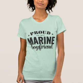 私の海洋のボーイフレンドの誇りを持った Tシャツ