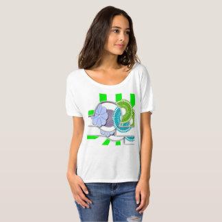 私の混合メディアのTシャツ Tシャツ