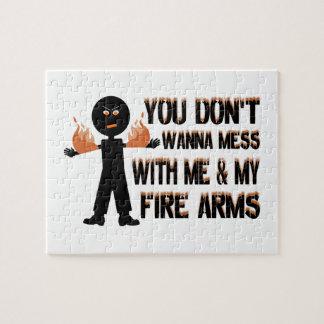 私の火の腕によって台なしにしないで下さい ジグソーパズル
