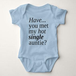 私の熱く独身のな伯母さんに会いましたか。 ベビーボディスーツ