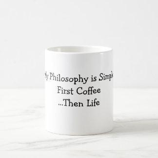 私の父の日の哲学のマグのhankfont コーヒーマグカップ