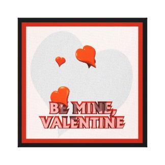 私の物がのバレンタインあって下さい- キャンバスプリント