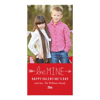 私の物が|のバレンタインデーの写真カードあって下さい カード