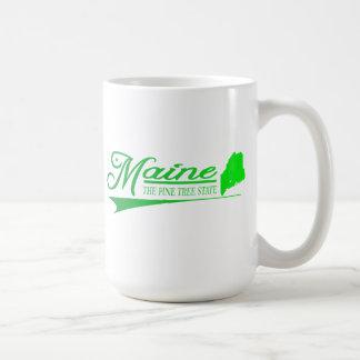私の物のメインの州 コーヒーマグカップ