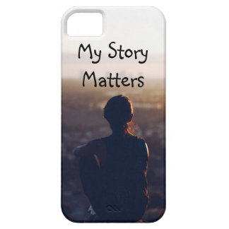 私の物語はカバー電話重要です iPhone SE/5/5s ケース