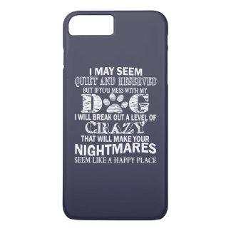 私の犬と台なしにすれば iPhone 8 PLUS/7 PLUSケース