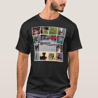 私の犬のTシャツ Tシャツ