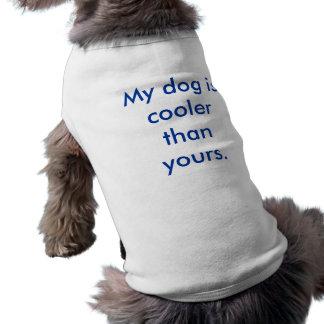 私の犬はあなたのより涼しいです ペット服