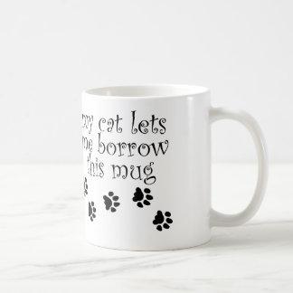 私の猫のマグ コーヒーマグカップ