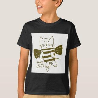 私の猫の物-蜂 Tシャツ
