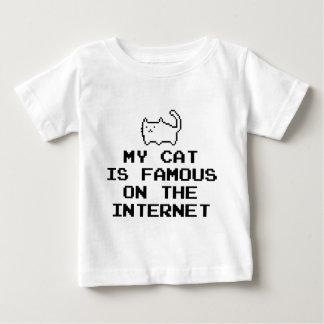 私の猫はインターネットで有名です ベビーTシャツ