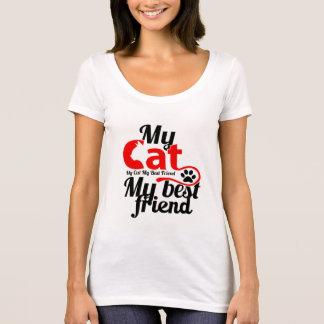 私の猫私の親友 Tシャツ