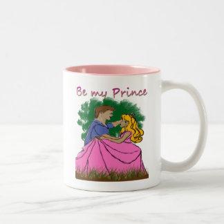 私の王子がMUG'Sあって下さい ツートーンマグカップ
