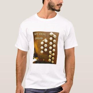 私の理想的な器官のTシャツ Tシャツ