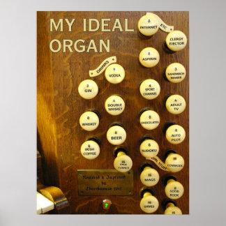 私の理想的な器官ポスター ポスター