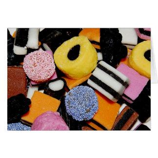 私の甘い3のための菓子 カード