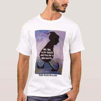私の生命はそれ自身のため-エマーソンの引用文- Tシャツです Tシャツ