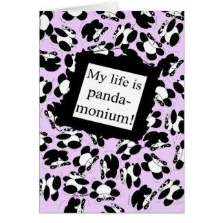 私の生命はパンダmonium -薄紫です カード