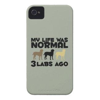 私の生命は前に常態3ラブラドールでした Case-Mate iPhone 4 ケース
