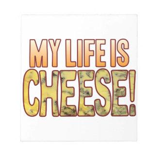 私の生命ブルーチーズ ノートパッド