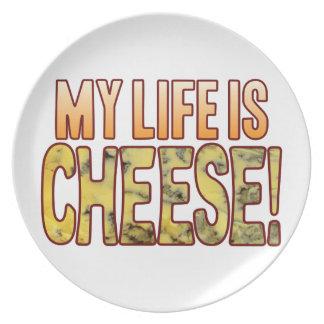 私の生命ブルーチーズ プレート