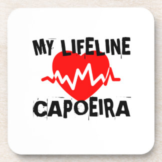 私の生命リーナCAPOEIRAの武道のデザイン コースター