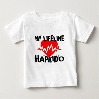 私の生命リーナHAPKIDOの武道のデザイン ベビーTシャツ