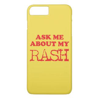 私の発疹について私に尋ねて下さい iPhone 8 PLUS/7 PLUSケース