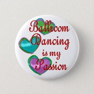 私の社交ダンスの情熱 5.7CM 丸型バッジ