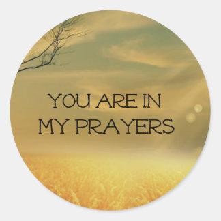 私の祈りの言葉 ラウンドシール