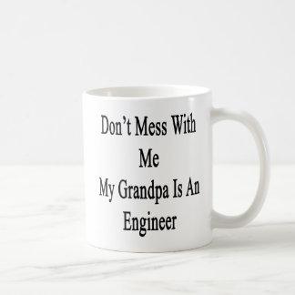 私の祖父によってがエンジニアである私と台なしにしないで下さい コーヒーマグカップ