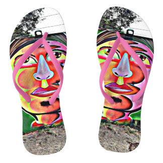 私の神はよい双安定回路のMammiの通りの芸術です ビーチサンダル