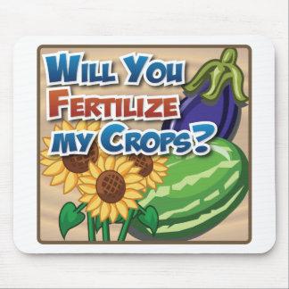 私の穀物を肥やしますか。 マウスパッド