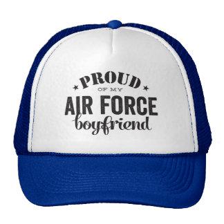 私の空軍ボーイフレンドの誇りを持った キャップ