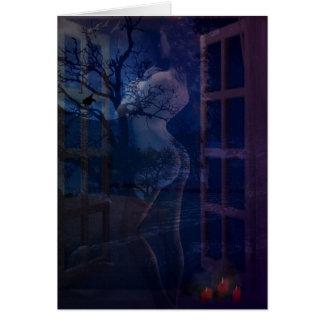 私の窓に来られる グリーティングカード