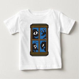 私の窓の外のモンスター ベビーTシャツ