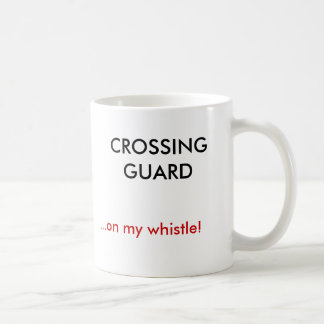 私の笛の交通指導員、…! コーヒーマグカップ