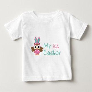私の第1イースター ベビーTシャツ