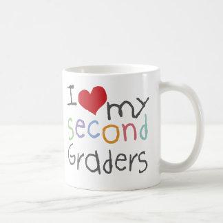 私の第2グレーダーを愛して下さい コーヒーマグカップ