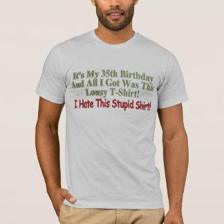 私の第35誕生日プレゼント Tシャツ