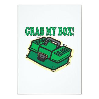 私の箱をつかんで下さい カード