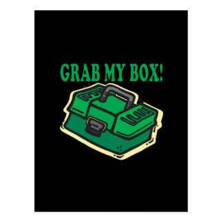 私の箱をつかんで下さい ポストカード