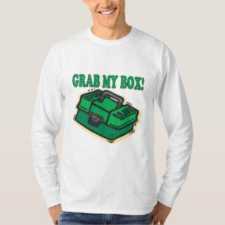 私の箱をつかんで下さい Tシャツ
