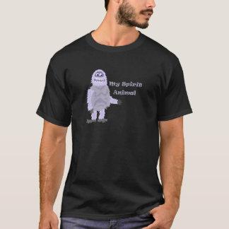 私の精神の動物の雪男の漫画 Tシャツ