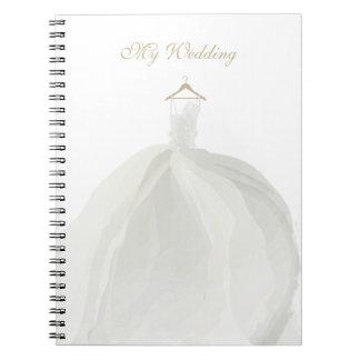 私の結婚式はıのノートに注意します ノートブック