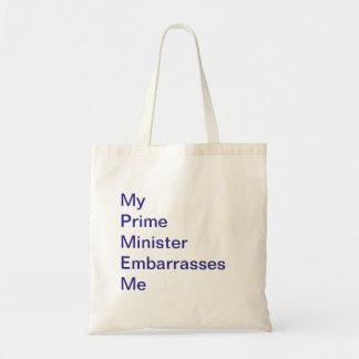 私の総理大臣は私を戦闘状況表示板当惑させます トートバッグ