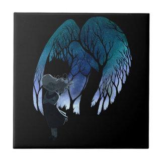 私の肩の天使 タイル