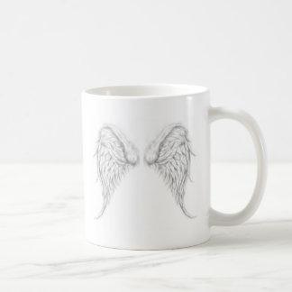 私の背部の翼 コーヒーマグカップ