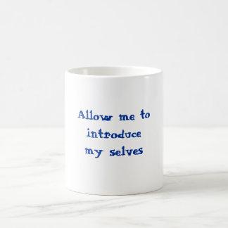 私の自己のマグ コーヒーマグカップ