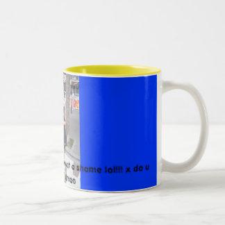 私の自身のマグLolの私!!! ツートーンマグカップ